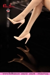 Exquisite High Heels in Pink- Feel Toys 1/6 Scale Accessory