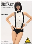 Tuxedo Lingerie Set - Flirty Girl 1/6 Scale Accessories