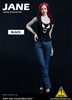 Mary & Jane Female Fashion Set WITHOUT HEAD - Black Version - Flirty Girl 1/6 Scale Accessory