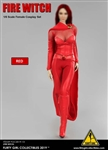 Cosplay Clothing Set (Version 2.0) - Red Version - Flirty Girl 1/6 Scale Accessory