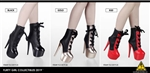 Female Ankle Boots - Three Color Versions - Flirty Girl 1/6 Scale Accessory Set