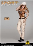 Tan Pants Set - Flirty Girl 1/6 Scale Accessory