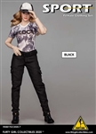 Black Pants Set - Flirty Girl 1/6 Scale Accessory