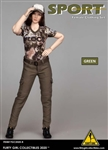 Green Pants Set - Flirty Girl 1/6 Scale Accessory