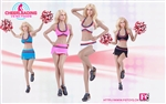 Cheerleader Uniform - Fire Girl 1/6 Scale Accessory Set