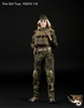 Tactical Female Gunner in Green - Fire Girl 1/6 Scale Accessory Set