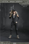 Tactical Female Shooter - Black Version - Fire Girl 1/6 Scale Accessory Set