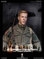 US Paratrooper Platoon Leader - Easy Company, 2nd Btn - World War II - Facepool 1/6 Scale Figure