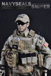Navy SEALs Sniper - Flagset 1/6 Scale Figure