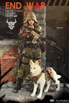"Doomsday War Series End War Death Squad ""U"" Umir + Dog Suit - Flagset 1/6 Scale Figure"