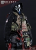 "End War Death Squad ""K"" Caesar - Doomsday War Series - GHOSTS - Flagset 1/6 Scale Figure"