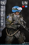 Chinese Peacekeeping Infantry Battalion - Flagset 1/6 Scale Figure