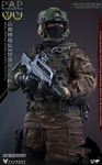 People's Armed Police Assault Team - Shannante Team X Falcon - Flagset 1/6 Scale Figure