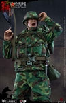 Chinese People's Liberation Army in 80s - Flagset 1/6 Scale Figure