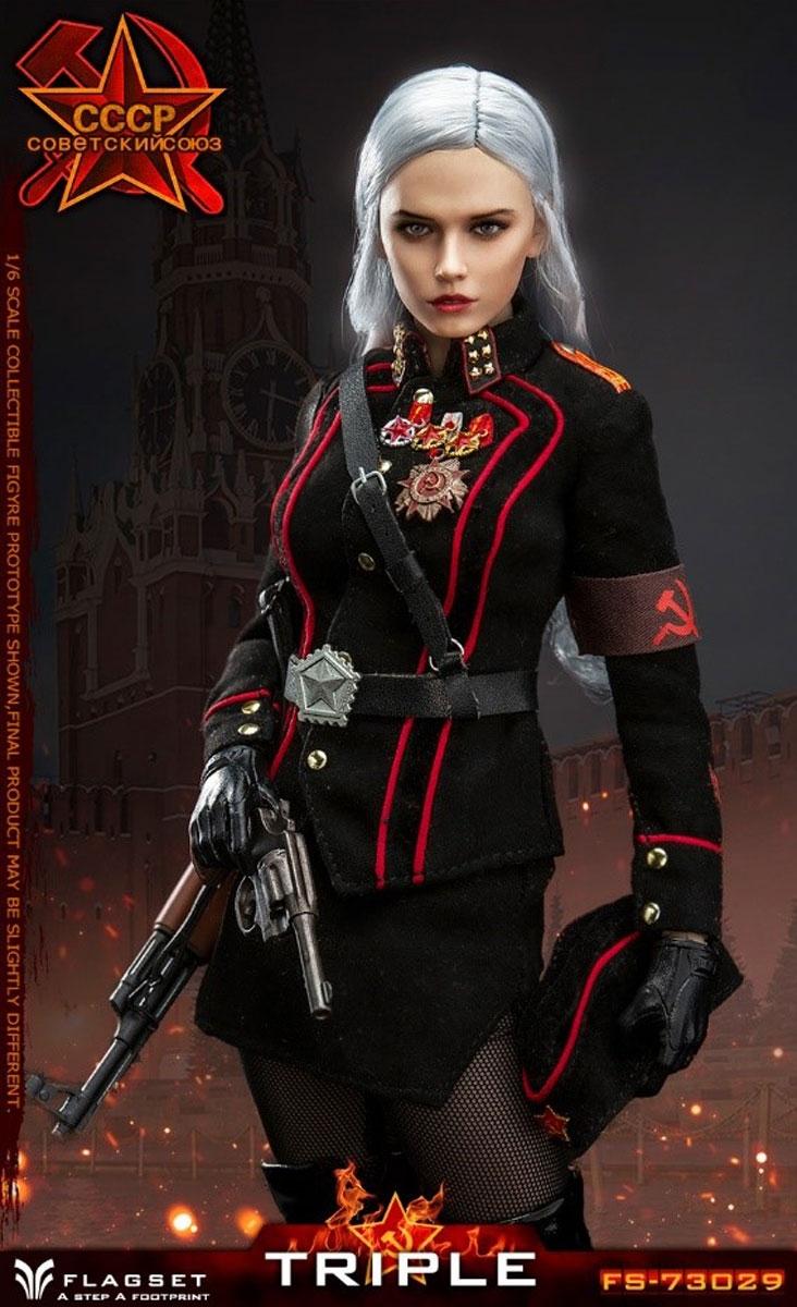 FLAGSET FS 73029 1//6 Red Alert Soviet Female Officer Katyusha Military Uniform