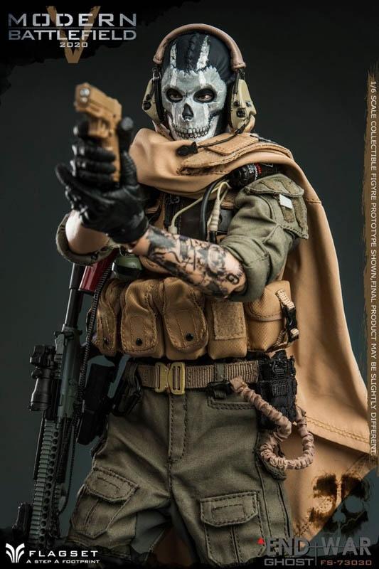 FLAGSET 73030 1//6 Scale Modern Battlefield End War V Ghost Boots Model