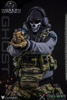 Modern Battlefield End War X Ghost - Flagset 1/6 Scale Figure