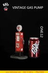 Vintage Gas Pump - 1/12 Scale Version - FeelWoToys Diorama Accessory