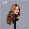 Caucasian Woman's Head Sculpt - Version B - GAC Toys 1/6 Scale Accessory