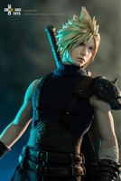 Fantasy Warrior Cloud Strife Normal Edition - Game Toys 1/6 Scale Figure