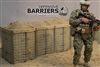 Defensive Barriers - Modern Military - Go Truck 1/6 Scale Accessory