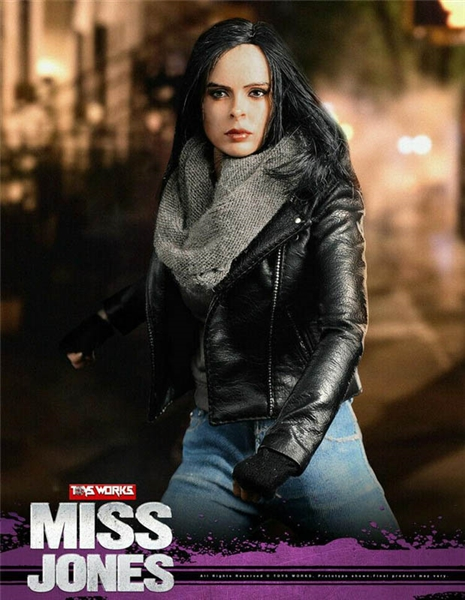 Miss Jones - ToysWorks 1/6 Scale Figure