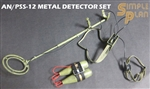 AN/PSS-12 Metal Detector Set - Hobby Nut 1/6 Scale Accessory