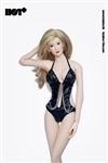 Black Sexy Lingerie - Hot Plus 1/6 Accessory Set