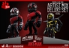 Ant Man Artist Mix Deluxe Set of 3 - Hot Toys Collectible Figures
