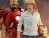 Pepper Potts and Iron Man Mark IX - Hot Toys 1/6 Figure Set