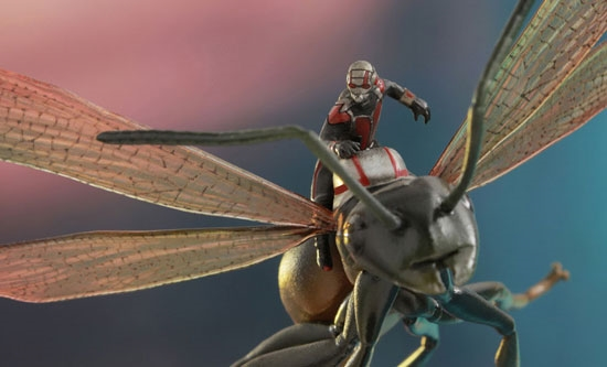 Power Ant Fly : Antman on flying ant
