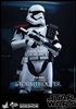 First Order Stormtrooper Officer - Hot Toys Sixth Scale Figure 902603