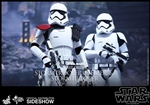 First Order Stormtrooper Officer and Stormtrooper Two-Pack - Hot Toys Sixth Scale Figure 902604