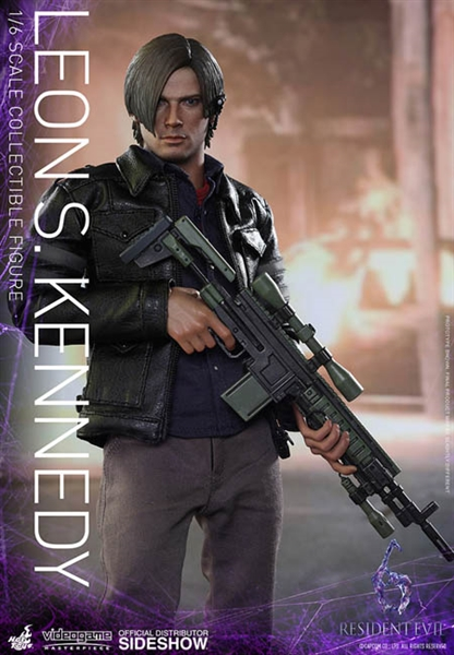 Leon Kennedy Resident Evil Video Game Masterpieces Series Hot Toys 1 6 Scale Figure 902750