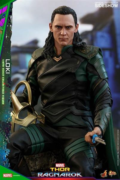 Loki   Thor: Ragnarok   Marvel   Hot Toys Movie Masterpieces Series 1/6  Scale Figure