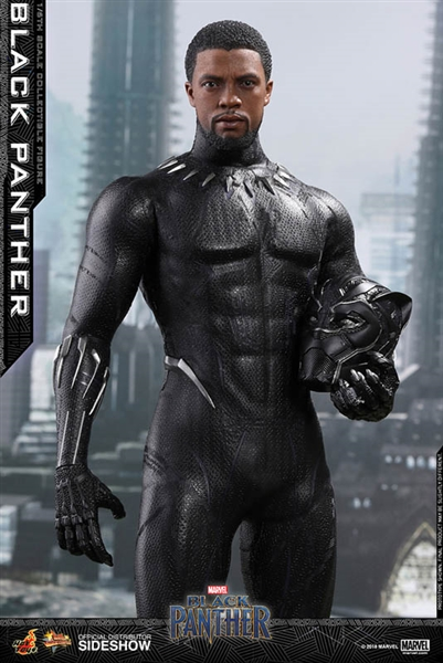 03894507e51 Black Panther - Marvel - Hot Toys Movie Masterpieces Series 1 6 ...