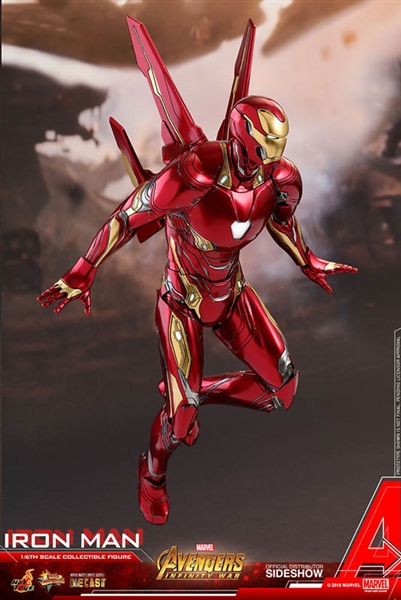 Iron Man Mark L - Infinity War - Hot Toys Diecast Movie Masterpieces 1/6  Scale Figure - FREE SHIPPING OFFER
