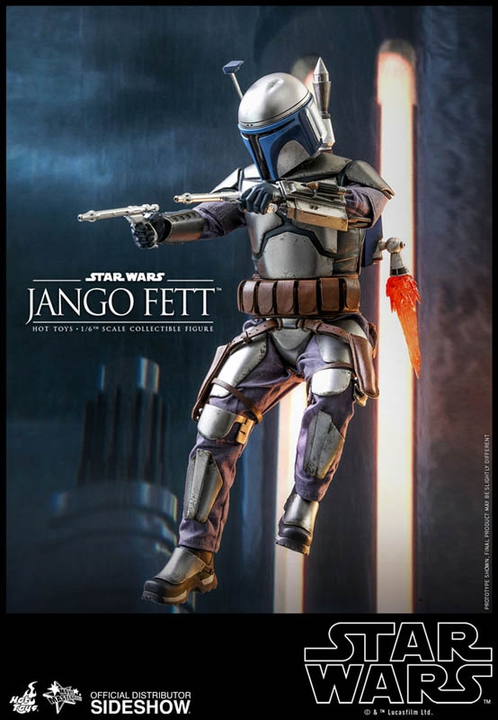 Jango Fett - Star Wars: Attack of the Clones - Hot Toys 1/6 Scale Figure