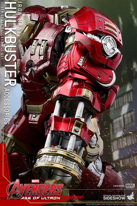 Hulkbuster Accessories Avengers Age Of Ultron Hot Toys 1 6 Scale Accessory Set