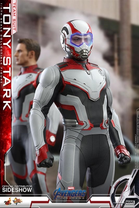 Tony Stark - Team Suit Version - Avengers: Endgame - Hot Toys 1/6 Scale Figure
