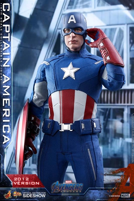 Captain America (2012 Version) - The Avengers - Hot Toys 1/6 Scale Figure