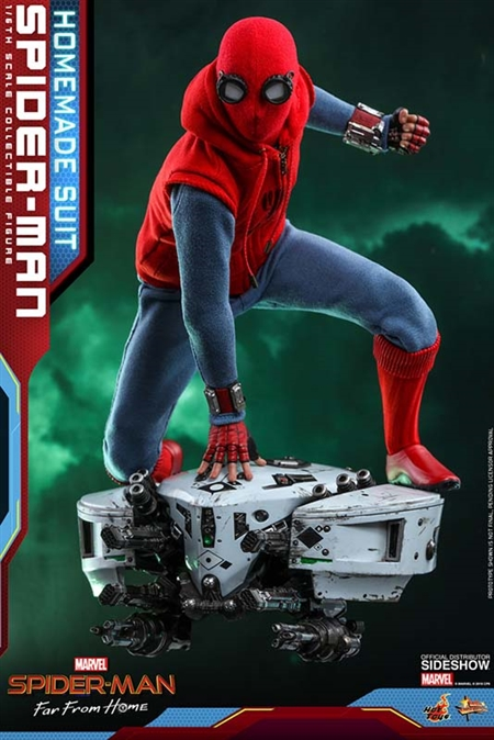 Spider-Man (Homemade Suit) - Spider-Man: Far From Home - Hot Toys 1/6 Scale Figure