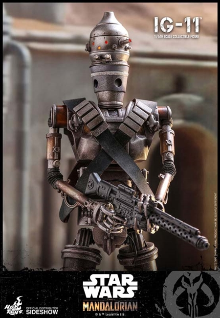 IG-11 - The Mandalorian - Star Wars - Hot Toys 1/6 Scale Figure