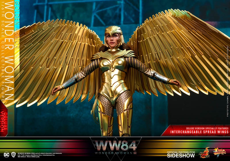 Golden Armor Wonder Woman Deluxe - Wonder Woman 1984 - Hot Toys 1/6 Scale Figure