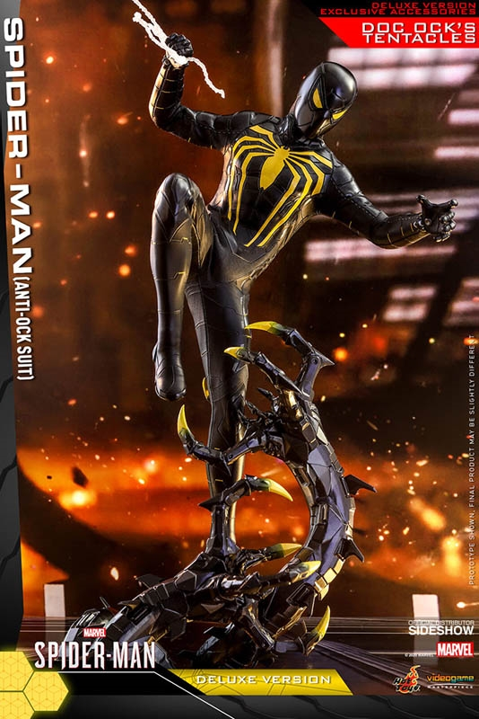 Spider-Man (Anti-Ock Suit) Deluxe - Hot Toys 1/6 Scale Figure