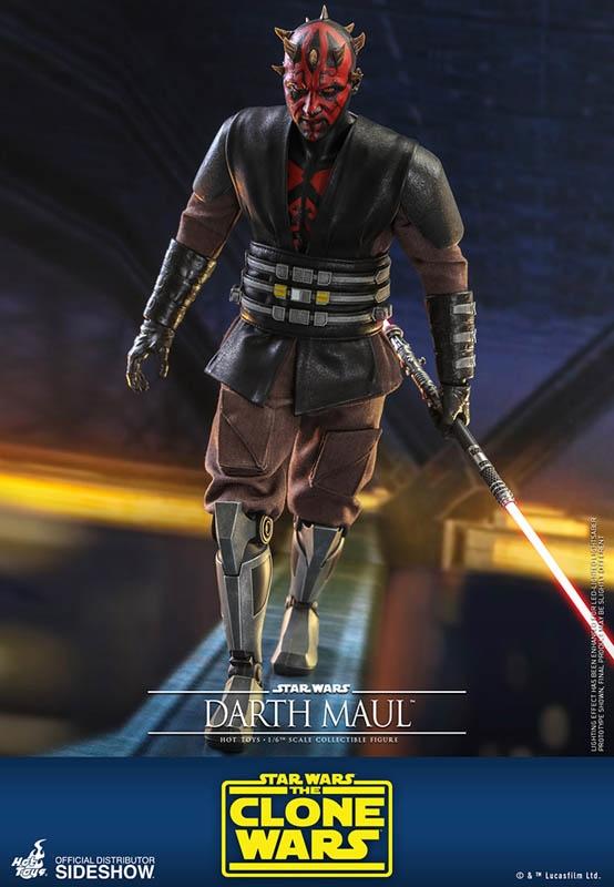 1//6 Scale Toy STAR WARS Darth Maul Lightsaber Hilt