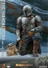 The Mandalorian and The Child - Star Wars - Hot Toys 1/4 Scale Collectible Set