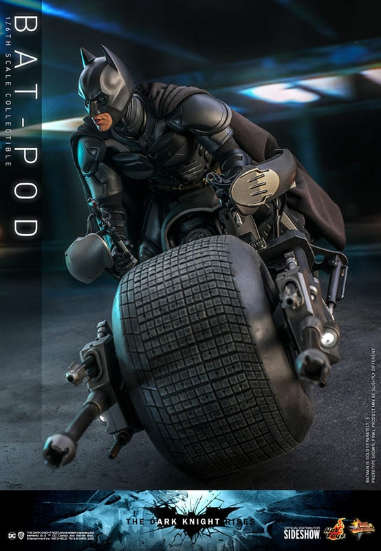 Bat Pod - The Dark Knight Rises - Hot Toys 1/6 Scale Figure Accessory