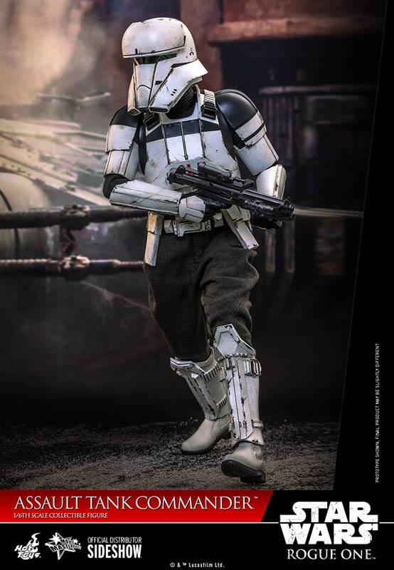 Assault Tank Commander - Rogue One - Hot Toys 1/6 Scale Figure