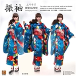 Furisode Clothing Set - Paper Crane - i8 1/6 Scale Accessory Set